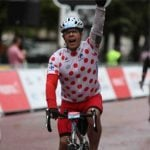 Completing RideLondon after five hours in the saddle