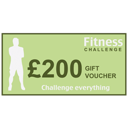 Personal trainer gift voucher for £200