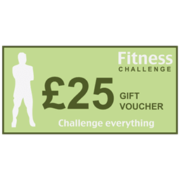 Personal trainer gift voucher for £25