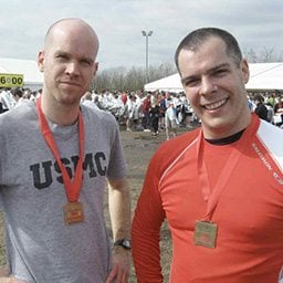 Enter an event and run with a friend